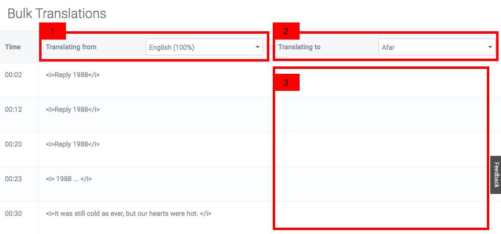 Using the Bulk Translate Tool – Viki Community Support