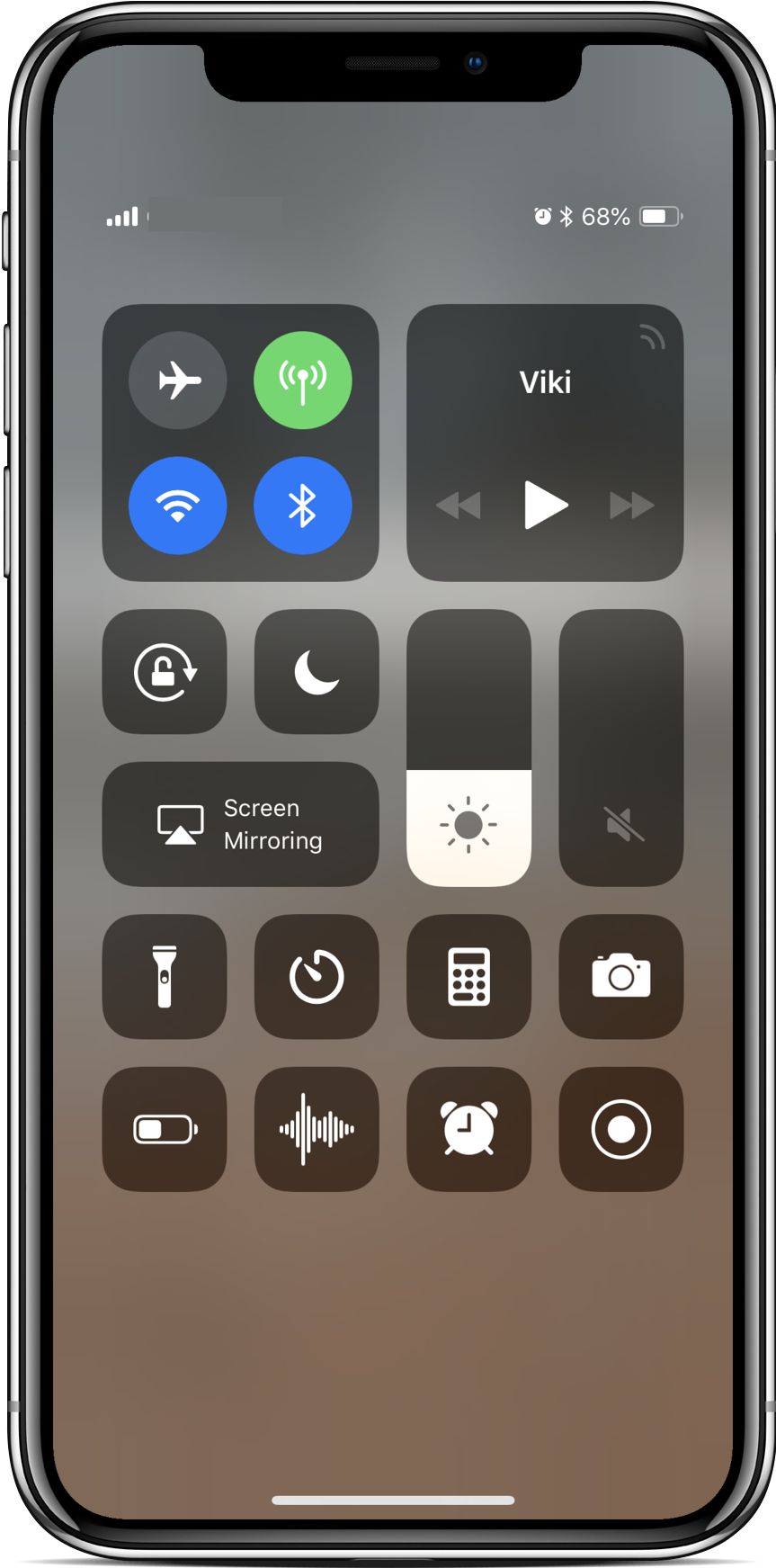 all screen receiver ios